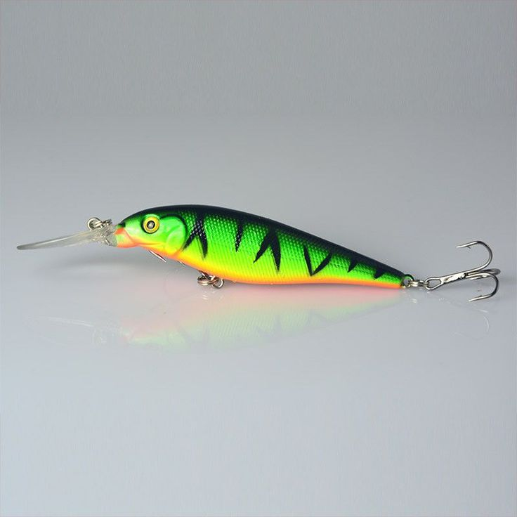 5 Colors 11cm 10.5g Hard Bait Minnow Fishing lures Bass Fresh Salt water 4#