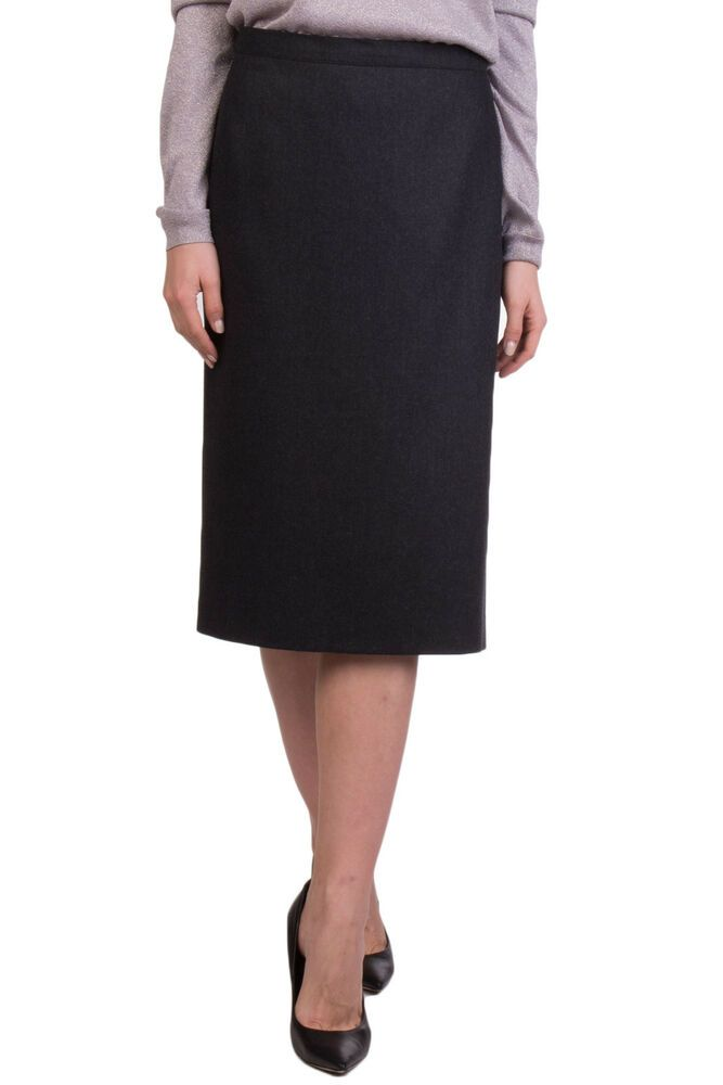 f850af9dfe ELENA MIRO' Wool Straight Skirt Plus Size 53 / XXL Split Back Made in Italy  #fashion #clothing #shoes #accessories #womensclothing #skirts (ebay link)