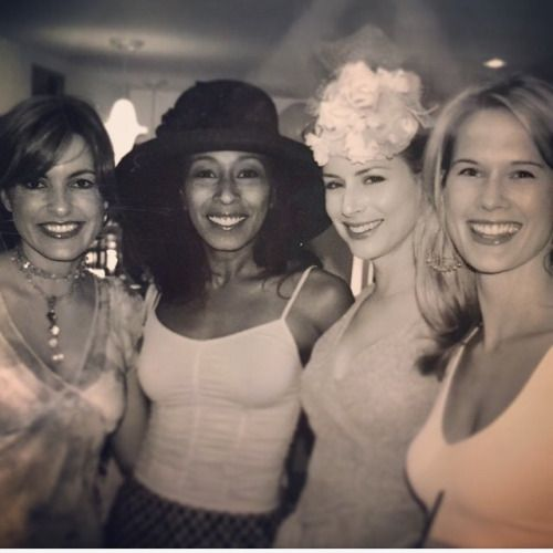 Mariska Hargitay, Tamara Tunie, Diane Neal, and Stephanie March