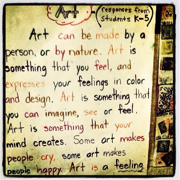 definitions of art by children helps us understand how they might perceive art therapy. Black Bedroom Furniture Sets. Home Design Ideas
