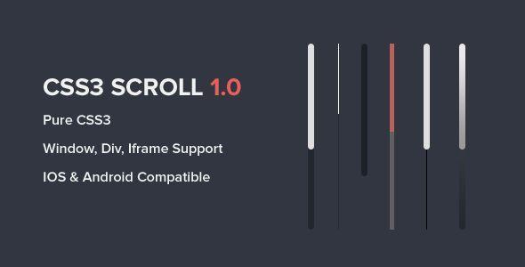 CSS3 Scroll - https://codeholder.net/item/css/css3-scroll