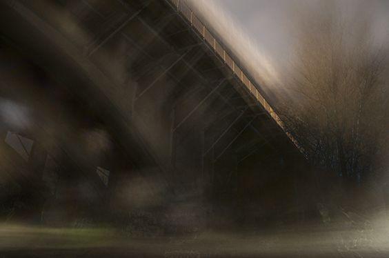 Ringgadebroen, aften
