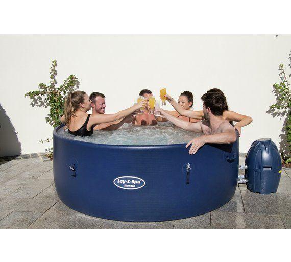 Buy Monaco 8 Person Lay Z Spa Hot Tub Hot Tubs Spas And