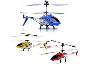 Latest 2012 Syma s107G RC helicopter 3 Combo Set Blue, Red, and Yellow Bundle! by Syma. $73.99. The transmitter has an alignment trim, a charging and power indicator, a left/right lever and trimmer. 3 Units S107G in Red, Yellow and Blue. Value of each helicopter $35-$40 if purchased separately.. Full 3 channels: up, down, left, right, forward, and backward. FAST SHIPPING!!!!. This is a rare Latest 2012  3 pack of blue,red, and yellow Syma S107 equipped with a 4-in-1 ...