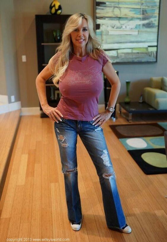 Wifeys World - Sandra Otterson 44   tits in 2019   Wifeys ...