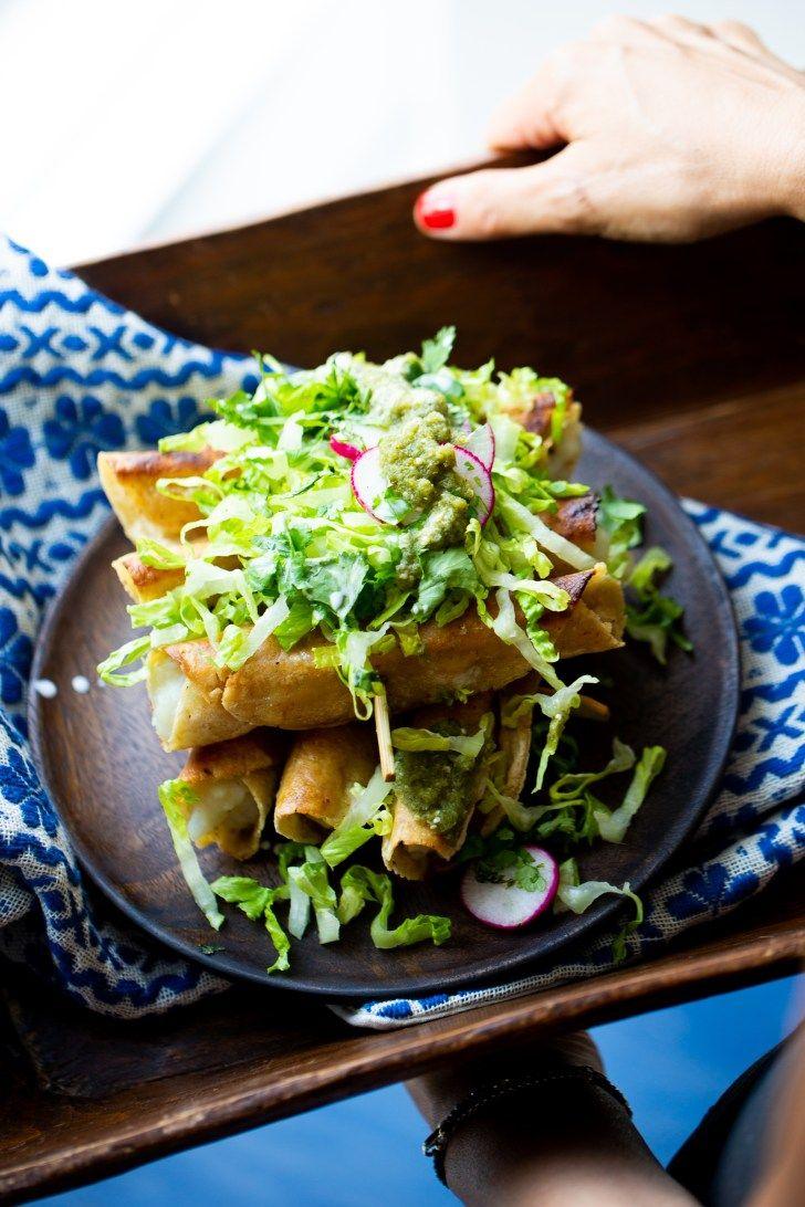 Crispy Potato Tacos Piloncillo Vainilla Authentic Mexican Food Recipe In 2020 Vegan Mexican Recipes Mexican Food Recipes Authentic Mexican Food Recipes