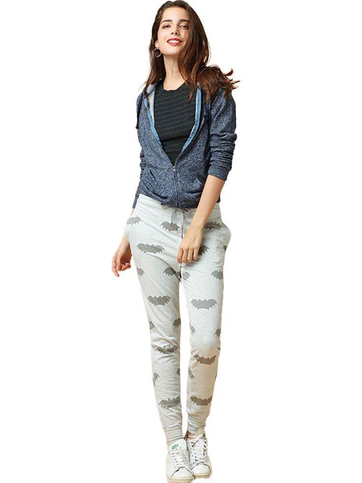 Women Casual Hooded Solid Color Zipper Coat