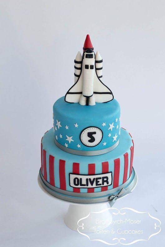Space Shuttle Birthday Cake - Birgit Syrch-Moser Torten & Cupcakes e.U. - Google+