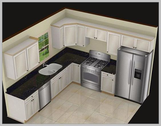1000+ ideas about Small L Shaped Kitchens on Pinterest | Kitchens with islands, L shape kitchen and L shape