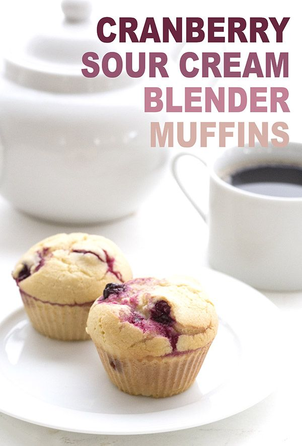 Best low carb Cranberry Muffin recipe. They are so easy to whip up in your blender and make a fabulous on the go breakfast. LCHF Keto THM Banting recipe.  via @dreamaboutfood