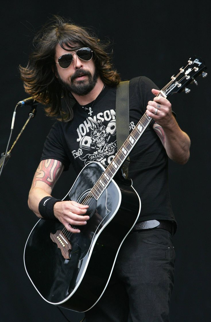 Dave Grohl, Foo Fighters, one of the most talented musicians in my opinion