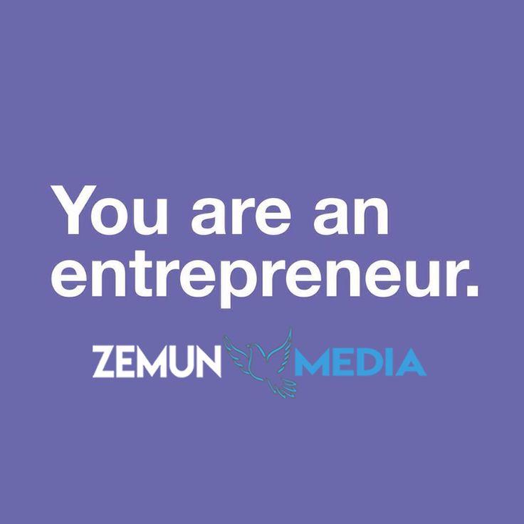 YOU ARE AN ENTREPRENEUR. Who else is? tag someone Follow @zemunmedia for more. . . #manager #design #creative #designer #marketing #entrepreneur #Unternehmer #motivation #seo #growthhacking #ppc