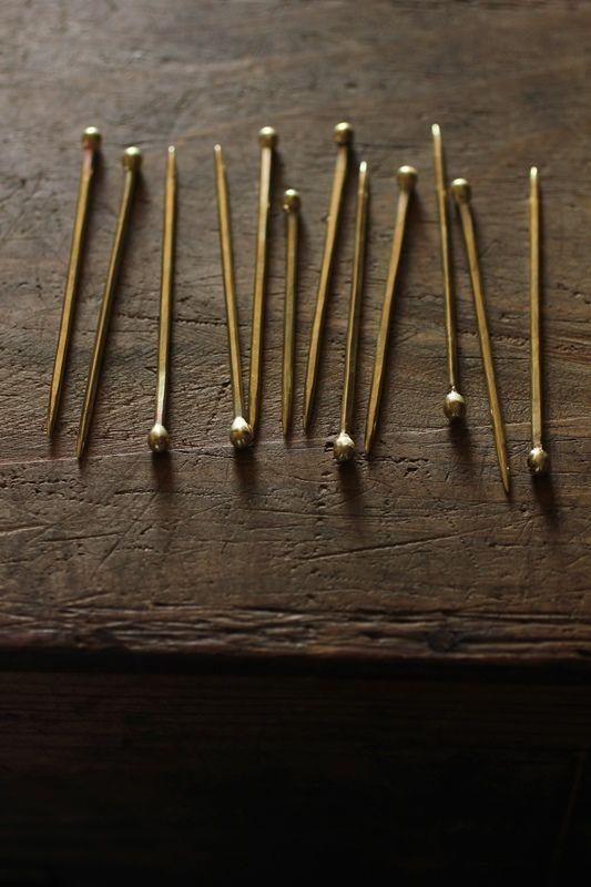 Brass Cutlery < Pick > - IRRE