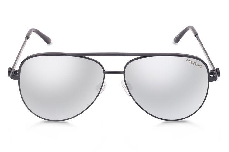 EMPIRE Black   Oversized Aviator   Skye & Lach Eyewear