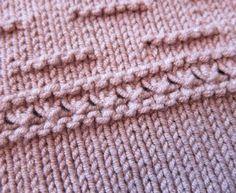 Die kleine Bordüre | Tichiro - knits and cats