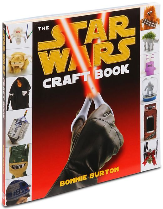 By this book, it has so many fun ideas for adults and kids! - The Star Wars Craft Book by Bonnie Burton