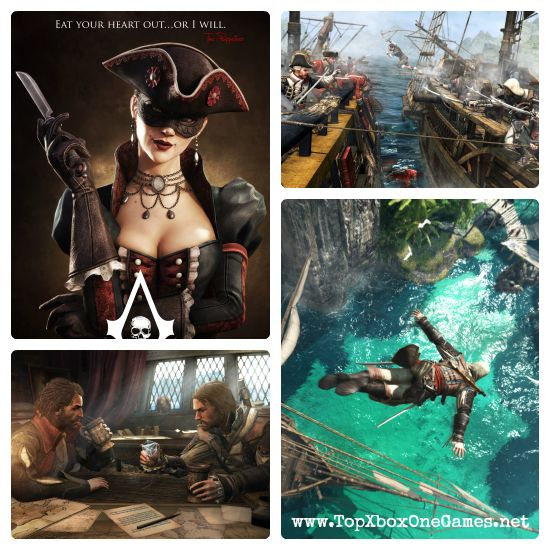 Assassin's Creed IV: Black Flag | TOP XBOX ONE GAMES