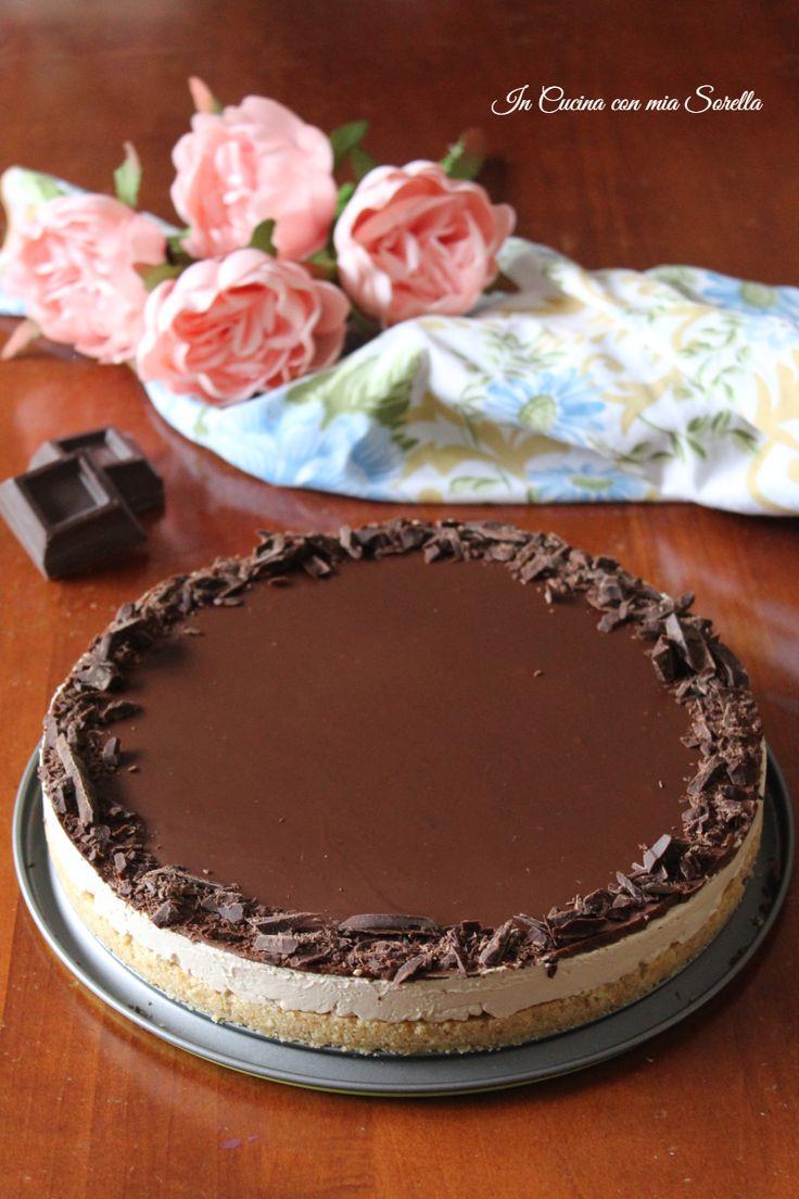 Cheesecake al caff e cioccolato ricetta le migliori for Le migliori ricette di cucina