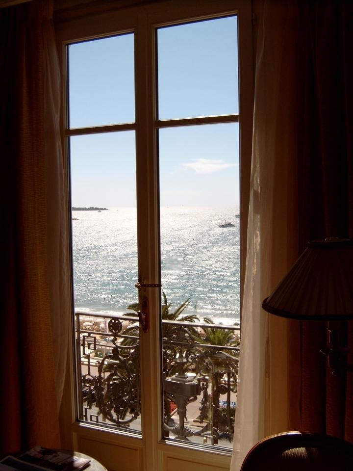 Hotel Ritz Carlton, Cannes, France......... Wow