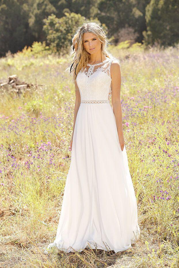 Ladybug dress wedding bridal wedding bridal gown romantic wedding dress boho novel ... - Trouw jurk