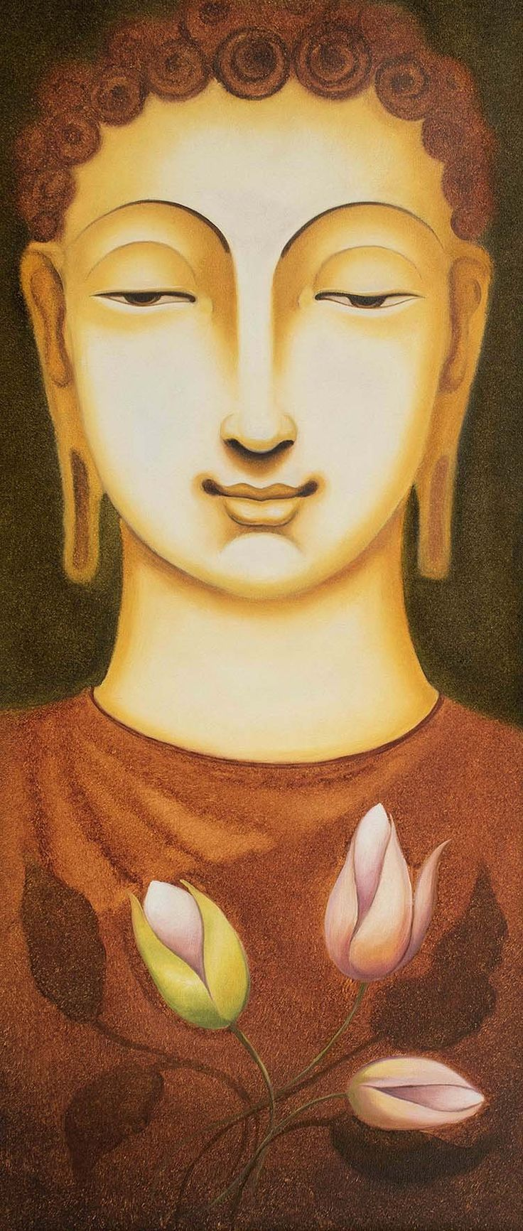 Lord Buddha - ArtCollective - Affordable Indian Art - 1