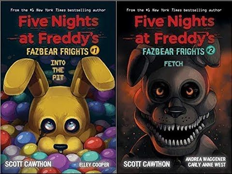 Two new FNAF books (Five Nights At Freddy's Books) #FNAF