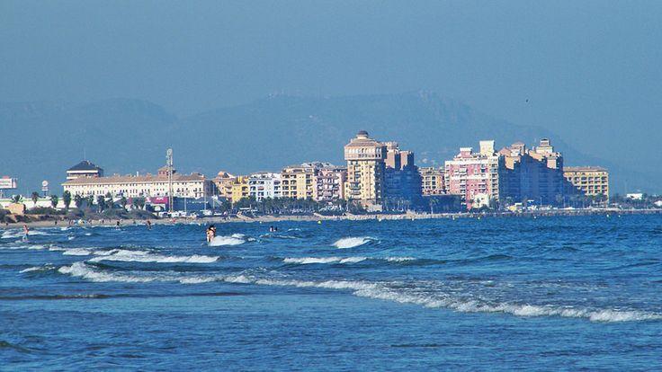 La Malvarrosa beach - Valencia