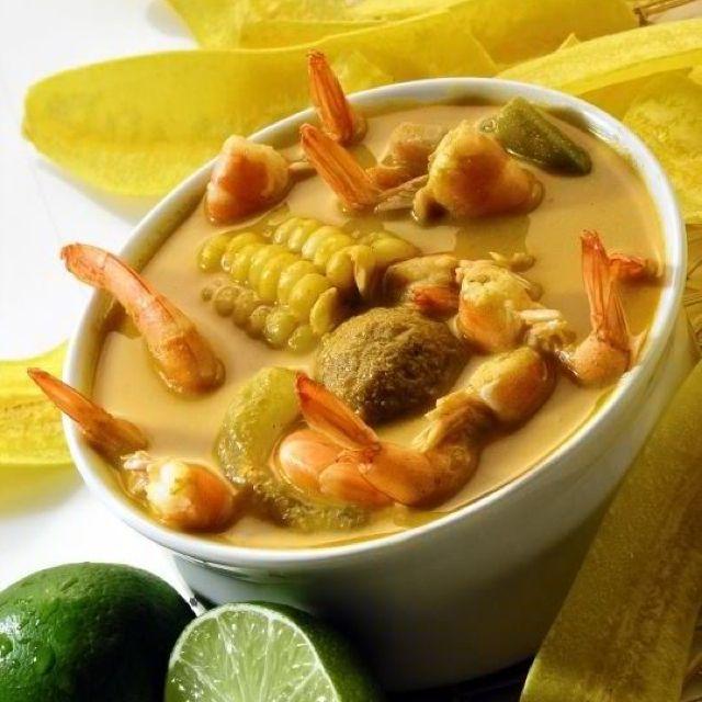 viche de mariscos (comida ecuatoriana)