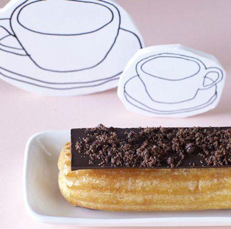 Choux Pastry Éclair - eatlove