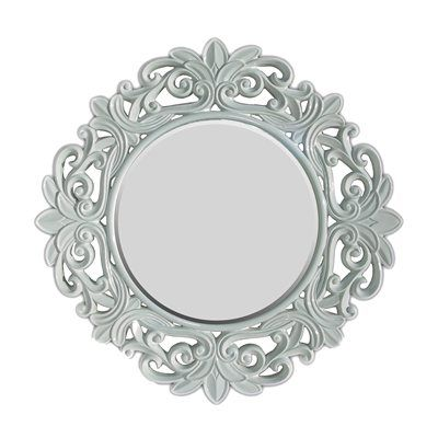 Imagination Mirrors IW9660 Round Contemporary Wall Mirror