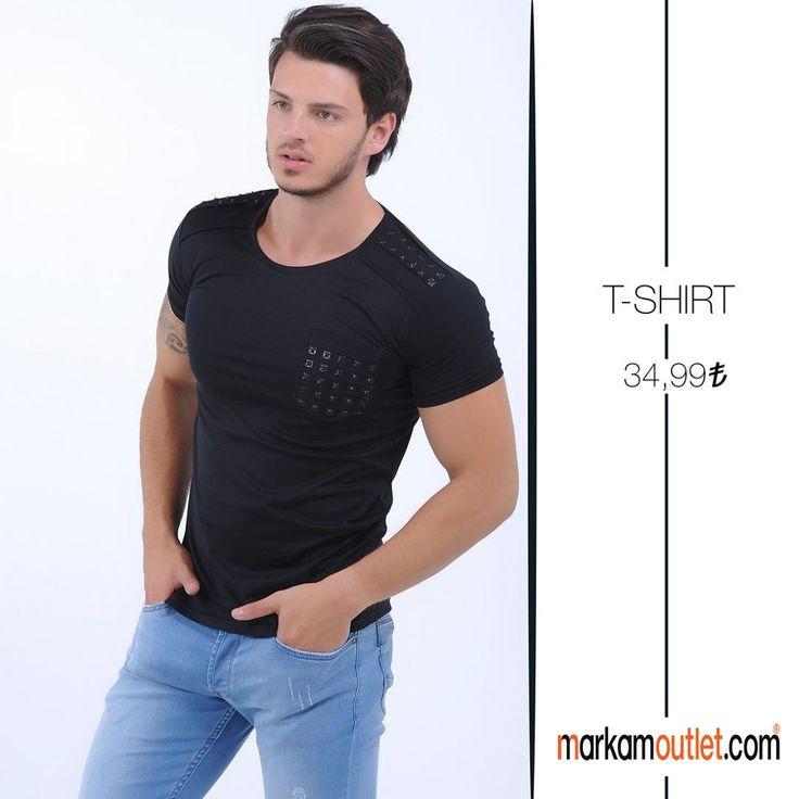 #erkek #tişört #kırmızı #siyah #black #online  #alışveriş #sitesi #markamoutlet #indirim #red #sezonsonu #şık #bay