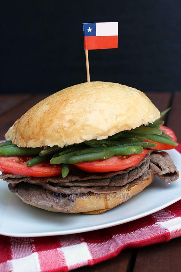 Mi Diario de Cocina   Chacarero,  sandwich chileno   http://www.midiariodecocina.com