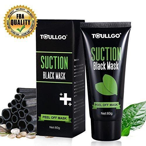 Peel Off Mask Black Mask Blackhead Mask ToullGo Deep Clean Blackhead/Farewell Strawberry Nose/Blackhead Killer Suction Black Mask For Face Nose Acne Treatment Oil Control (60g)