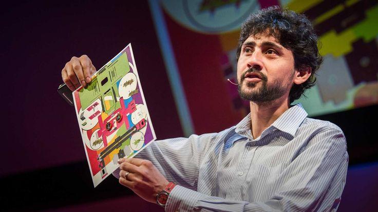 Manu Prakash: A 50-cent microscope that folds like origami