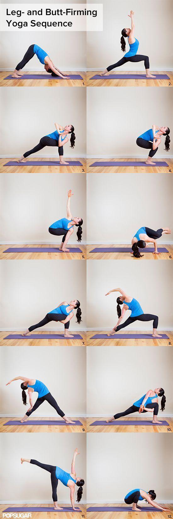 Leg and Butt Firming Yoga