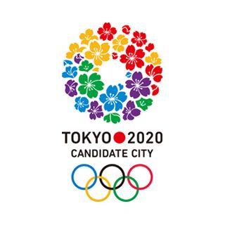 2020年オリンピック・パラリンピック東京招致のロゴ:5色のサクラ | ロゴストック