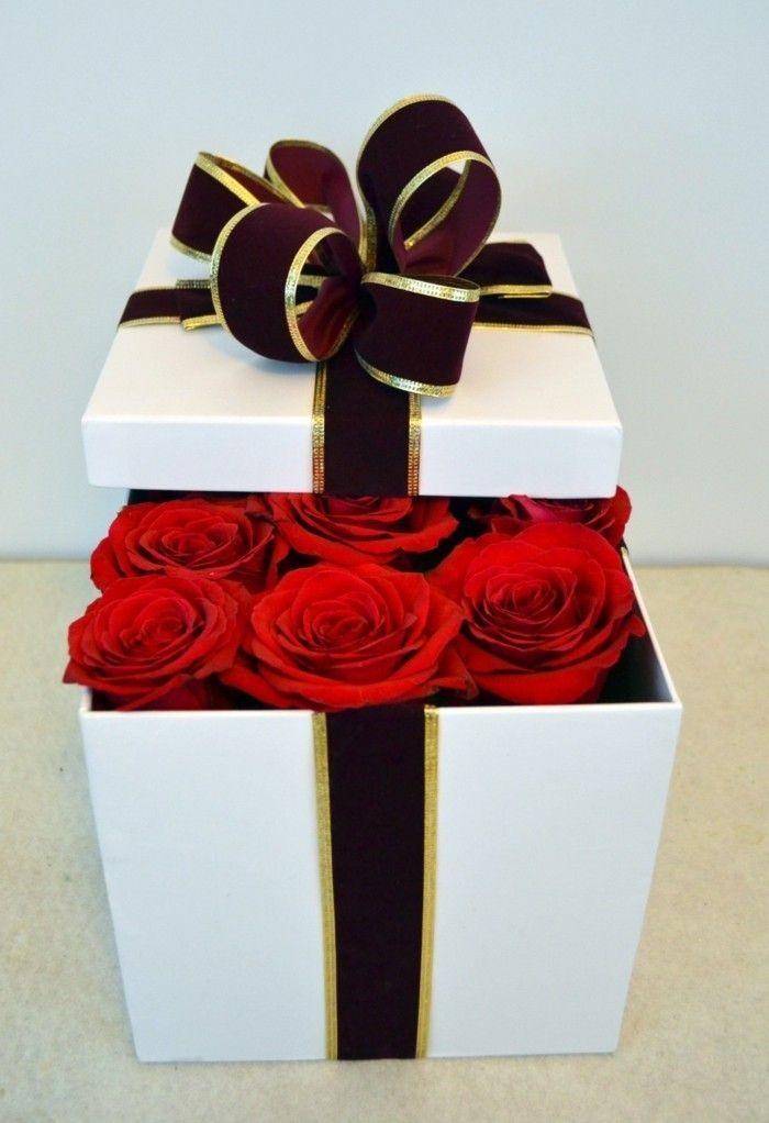 Nice Rose Rote Rosen Als Geschenk