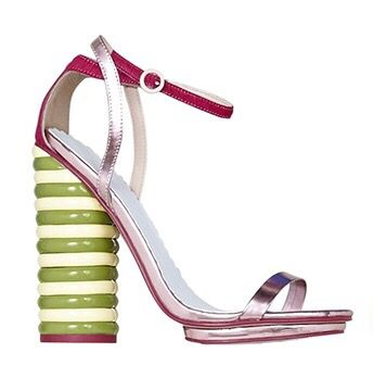 Walls x ASOS collaboration twister lolly heels