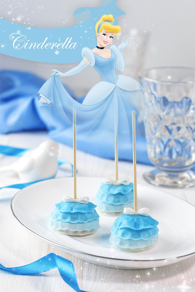 Disney Princess - Cinderella - pumpkin cake pops