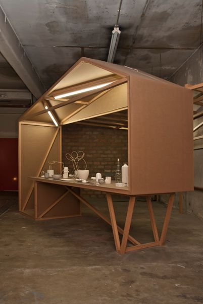 'Objects in the Rearview mirror are closer than they appear'. Exhibition design i.c.w. Eva Gevaert.