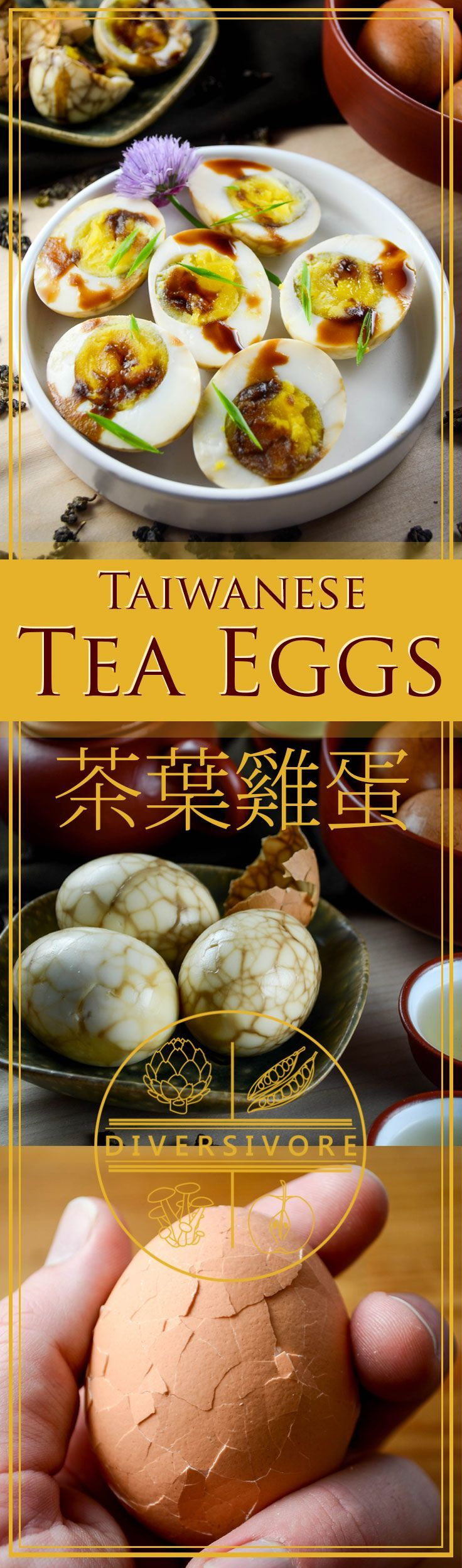 Cooked eggs steeped in a spiced tea marinade, this classic and Chinese snack is also amazingly easy to make at home. #sponsored by BC Egg.