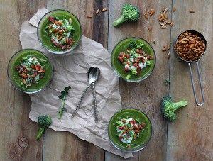 Dejlig og sund broccolisuppe <3