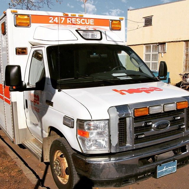 The 24/7 Rescue Van, a converted ambulance, exists to provide basic human care for people living on the streets who may be in need, or in crisis, while also providing spiritual, emotional and social support. The 24/7 Rescue Van helps over 950 people yearly and makes over 4000 trips every year, taking men, women, and youth to warm safe shelters. #hoperescuevan