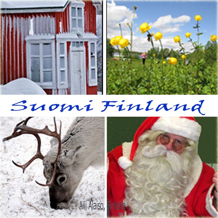 Four pictures of Finland by Aili Alaiso