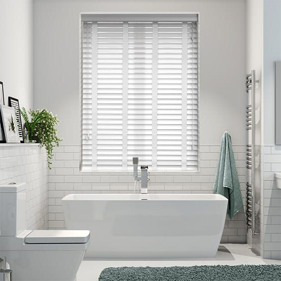 48 Best Bathrooms Images On Pinterest Shades Shades Blinds And Inspiration Best Blinds For Bathroom