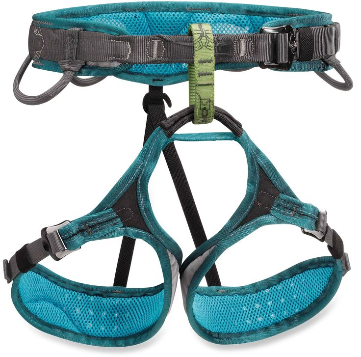 Petzl Luna Climbing Harness..in Jade Green/Gray...wishlist
