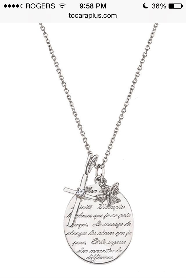 Beautiful serenity prayer www.tocaraplus.com/lauradufour