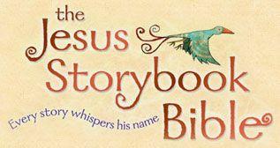 Jesus Storybook Bible website has weekly videos - Love this Bible!