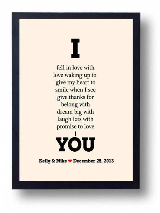 Anniversary gift for Husband, Boyfriend- We Go Together