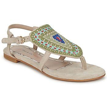Paul & Joe Sister vuelve a sorprendernos con esta sandalia color beige.   Para llevar con tus vaqueros favoritos o un short para un look moderno e informal. - Color : CRUDO - Zapatos Mujer 87,00 €
